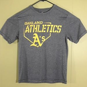 OAKLAND ATHLETICS A'S ADULT MEDIUM BASEBALL   MLB
